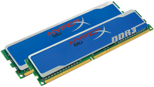 Kingston DDR3-1600 16384MB PC3-12800 (Kit of 2x8192) HyperX