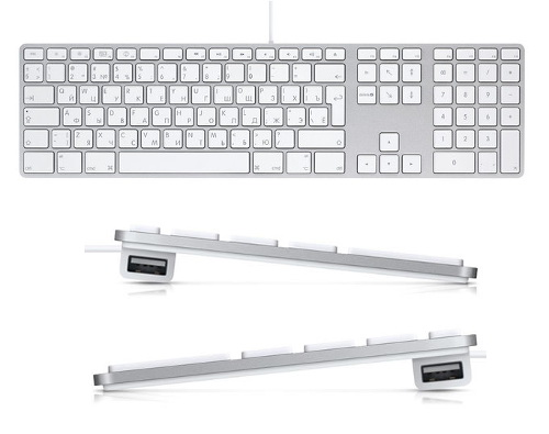 Apple Aluminum Extended Keyboard