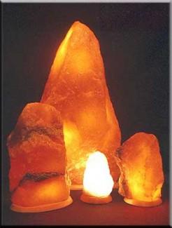 Соляные лампы. Лечебные и другие полезные свойства соляных ламп